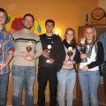 Die erfolgreichsten Leichtathleten des TV Sulzfeld im Jahr 2011
