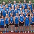Die Leichtathletikabteilung des TV Sulzfeld bei den Kreismeisterschaften