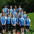 Das Leichtathletikteam des TV Sulzfeld bei den Kreismeisterschaften 2016