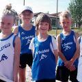 Die Leichtathletik-Kids des TV Sulzfeld hatten sichtlich Spaß