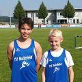 Die Sinsheim-Cupsieger Silas Lindenau und Julian Scheerer