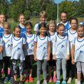 Die Leichtathletik-Kids des TV Sulzfeld beim Finalwettkampf des Jahres
