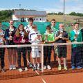 Die Sieger/Finalisten der Vereinsmeisterschaften der Junioren/Mädchen/Minis 2012