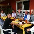 Gruppenfoto Herren 50 - Spiel gegen Ubstadt-Weiher am 12. Juni 2016