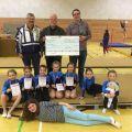 Spendenübergabe des Vereins zur Kinder- und Jugendförderung Sulzfeld